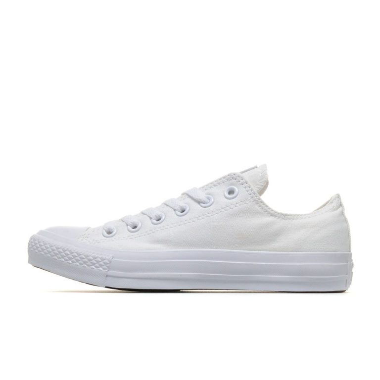 CONVERSE ALL STAR MONOCHROME MENS CANVAS LOW WHITE – Skipper Bar 51e9bb4f284b