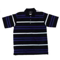 MENS FASHION BLUE STRIPE GOLFER SELECTED STORES**