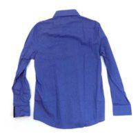 MIXED PATTERN SHIRT BLUE OR BURGUNDY NIKOS