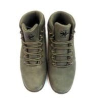 MID BOOT GREEN SUEDE