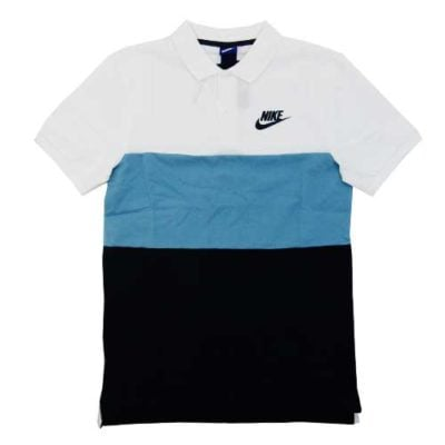 NIKE nike polo pq match up color block white - nkkk325 nike golf shirt 400x400 - NIKE POLO PQ MATCH UP COLOR BLOCK WHITE