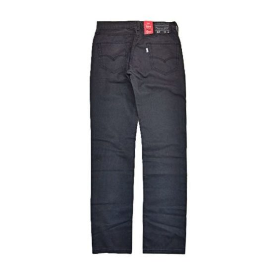 LEVIS 514 STRAIGHT FIT CHINO PANTS BLACK promotion - LEVIS 514 STRAIGHT FIT PANTS BLACK LEV515B V2 1 555x555 - Levi's Denim 550, 522, 514 and 514 Chino Promotion
