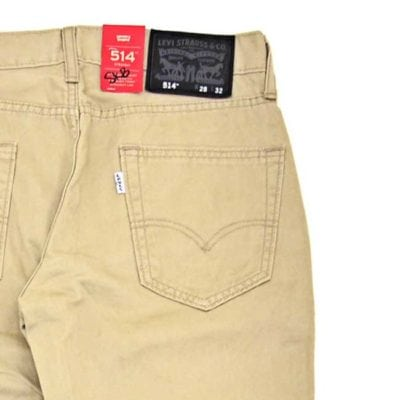 LEVIS 514 STRAIGHT FIT CHINO PANTS STONE