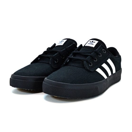 ADIDAS ORIGINALS KIEL BLACK BLACK WHITE