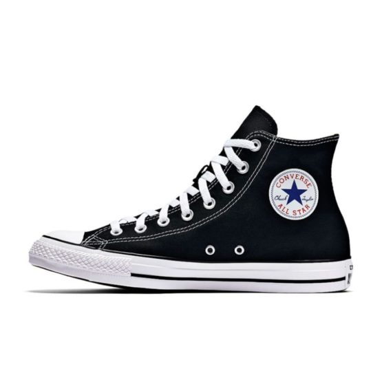 Skipper Bar Top men's fashion and footwear collections CONVERSE ALL STAR CANVAS HIGH BLACK