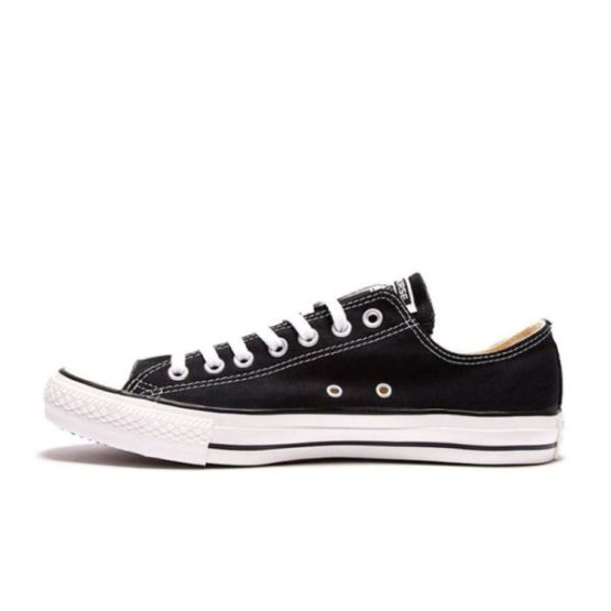Skipper Bar Top men's fashion and footwear collections CONVERSE ALL STAR CANVAS LOW BLACK