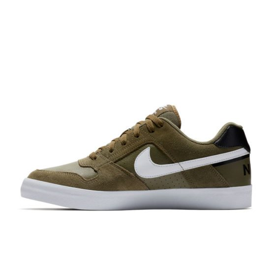 Skipper Bar Top men's fashion and footwear collections NIKE SB DELTA FORCE OLIVE WHITE SNEAKERS