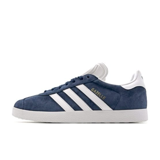 adidas ADIDAS ORIGINALS GAZELLE NAVY WHITE GOLD SNEAKERS