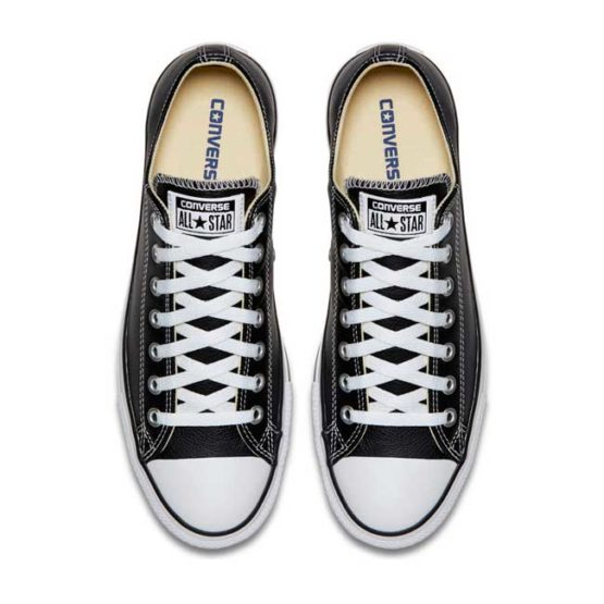 CONVERSE ALL STAR BASIC LEATHER LOW BLACK