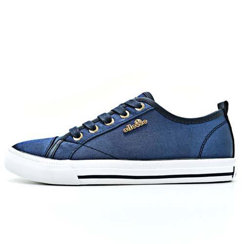ellesse Italia Sneaker Amber Satin Navy