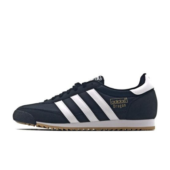 ADIDAS DRAGON OG CORE BLACK SNEAKERS