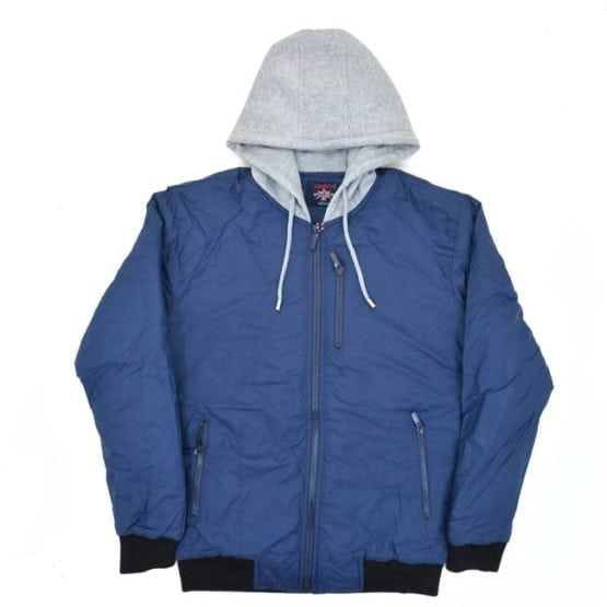 LONDON-REPUBLIC-LR486N-HOODED-BOMBER-JACKET