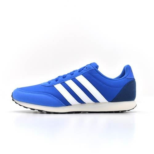 ADIDAS V RACER BLUE SNEAKERS
