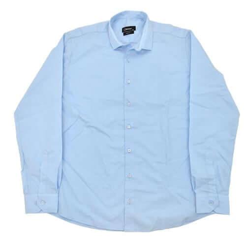 LORENZINI PLAIN SHIRT BLUE