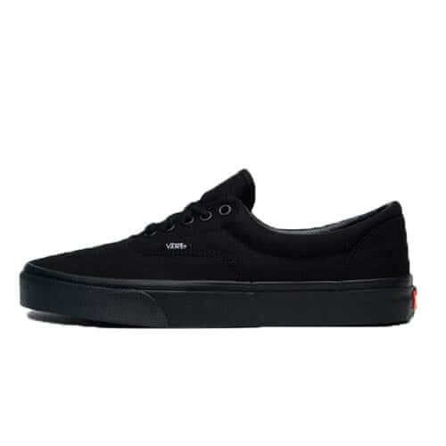 vans-era-black canvas