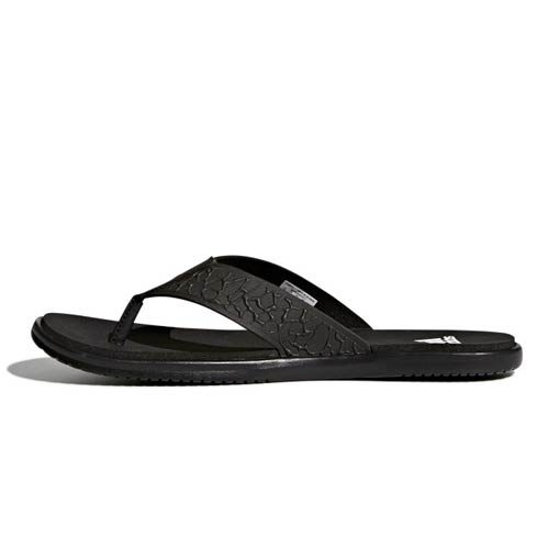 ADIDAS BEACHCLOUD CLOUDFOAM BLACK SANDALS