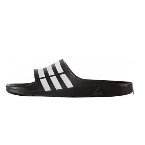 Adidas Duramo Slide Sandals - Black / White