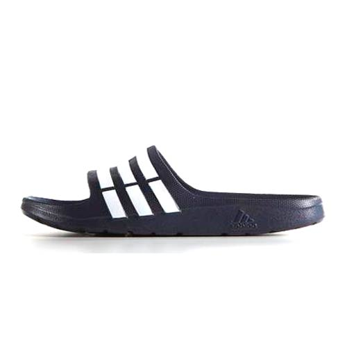 81335cb7145fa9 adidas Duramo Navy Slide Sandals – Skipper Bar