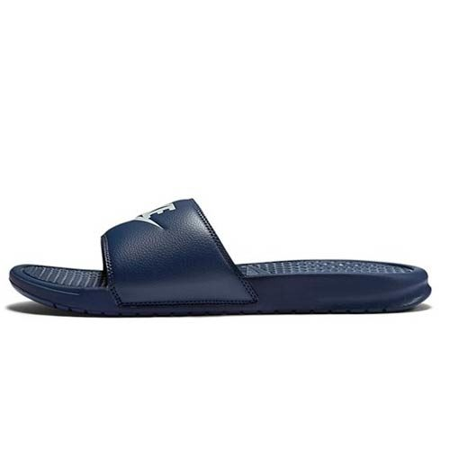 NIKE BENASSI NAVY SANDALS
