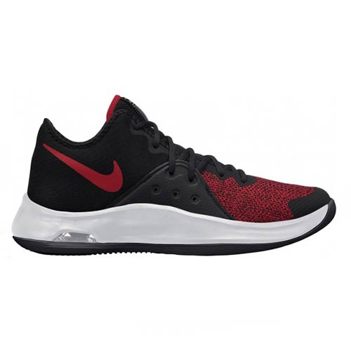 NIKE  AIR VERSATILE BLACK RED SNEAKER