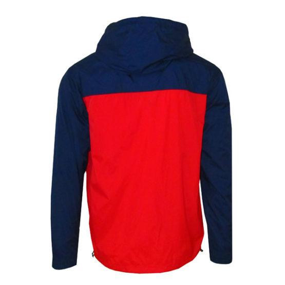 ellesse Heritage Lightweight Black Red Jacket