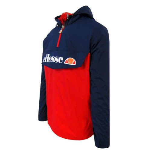ellesse Heritage Lightweight Black Red Jacket