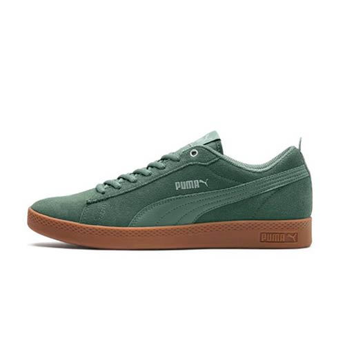 competitive price 9aa47 f9152 PUMA SMASH V2 OLIVE SNEAKER