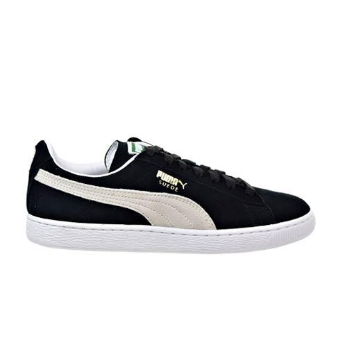 separation shoes 040f2 22c8d PUMA BLACK WHITE SUEDE CLASSIC