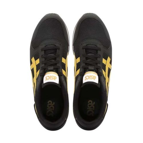 ASICS Curreo II Black and Gold Sneaker