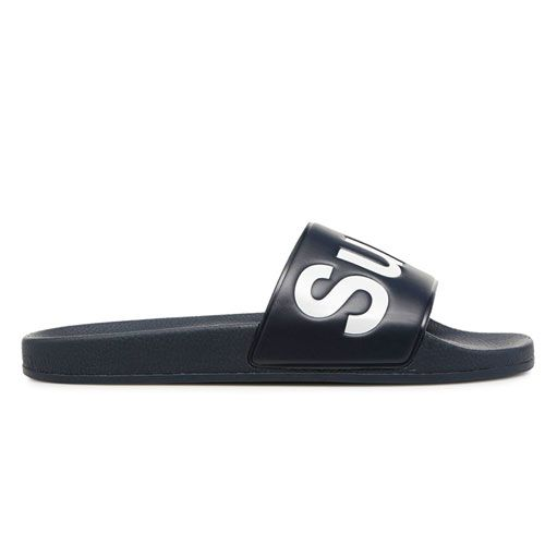 SUPERGA PU SLIDE SANDAL MEN'S BLACK