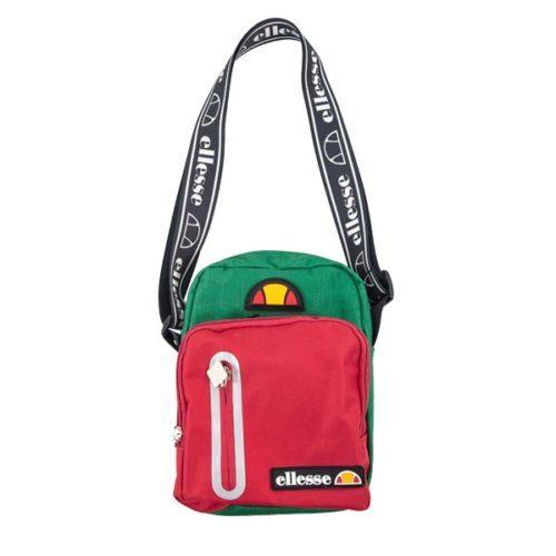 ellesse Heritage Red Green Sling Bag
