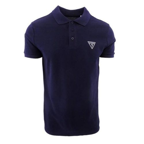 GUS4582 GUESS GOLF SHIRT NAVY