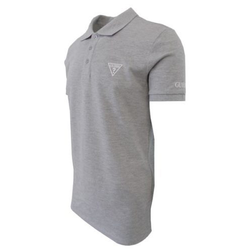 GUESS GREY POLO SHIRT SLIM FIT