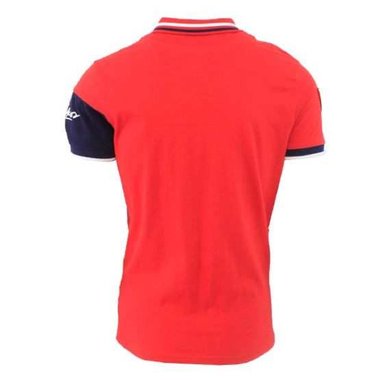 NIKOS NAUTICAL NAVY RED GOLFER