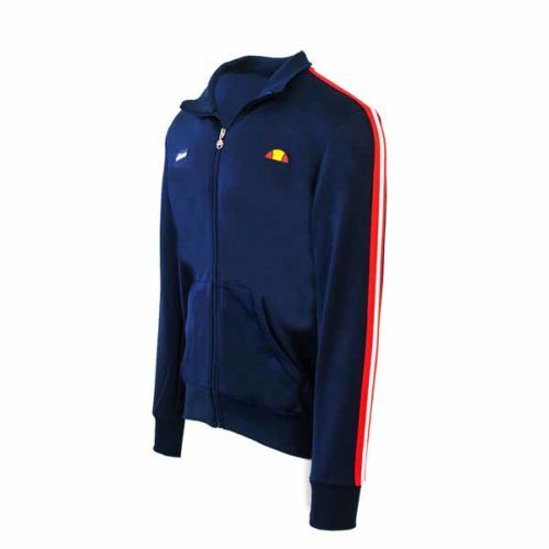 ellesse Heritage Navy Panel Track Jacket