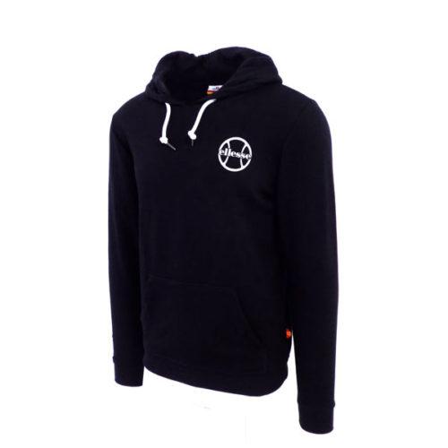 ellesse-Heritage-Hooded-Tennis-Ball-Logo-Fleece-Black-ELL619B