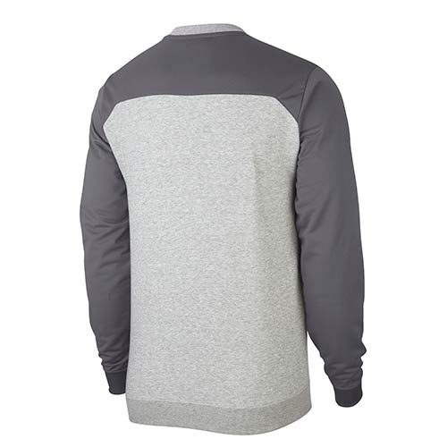 NIKE GREY CREW NECK SWEATER