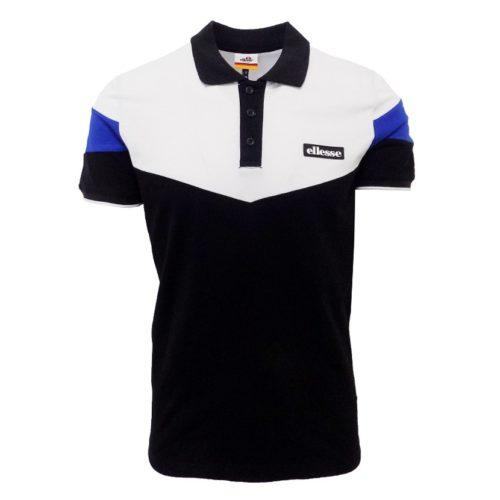 ellesse-colourblock-golfer-mens-black-white-blue-ell724b