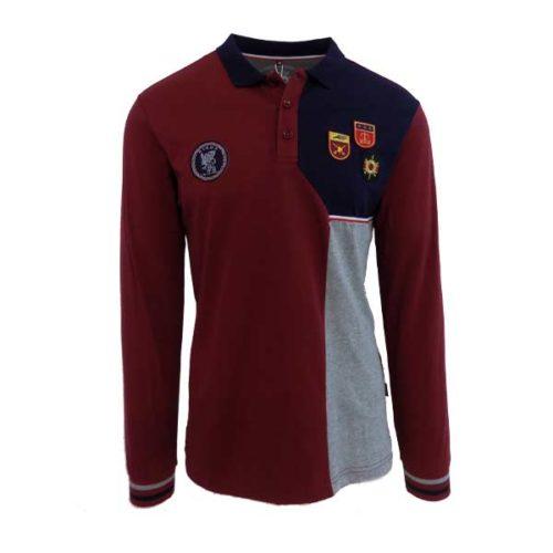 KOS722BU-Nikos-Long-Sleeved-Golfer-Burgundy