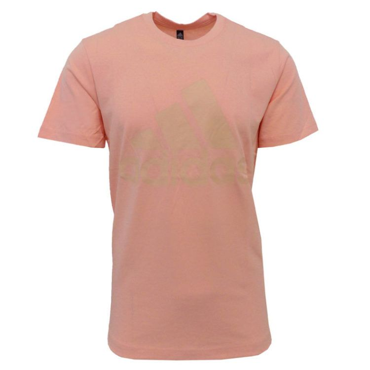 ADD2831P ADIDAS PERFORMANCE CL9424 MEMS MH BOSS TEE GLW PINK