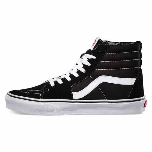 Vans Black White Sk8 Hi VAN14NB