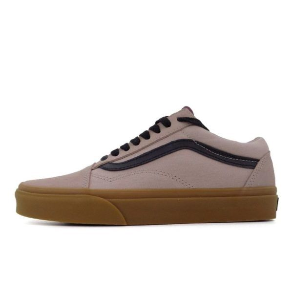 vans old skool canvas mens gum shade grey prune van9gp f0c