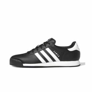adidas Originals Samoa Black White Sneakers ADD2026BW