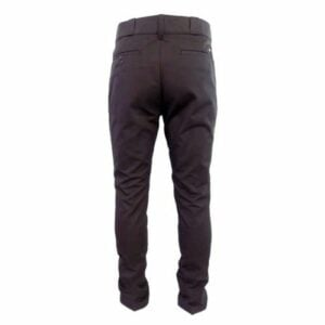DICK5CH DICKIES SLIM 847 TROUSER CHARCOAL BACK
