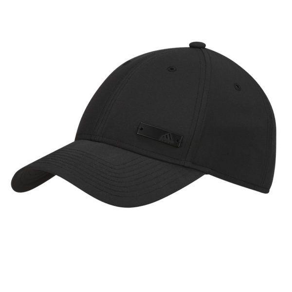 adidas performance 6 panel light weight metal badge cap mens black add1885b b46 1