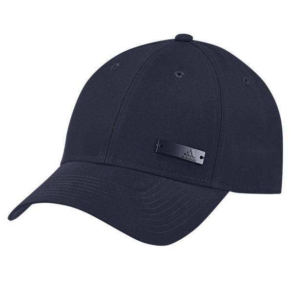 adidas performance 6 panel light weight metal badge cap mens ink add2305li b79