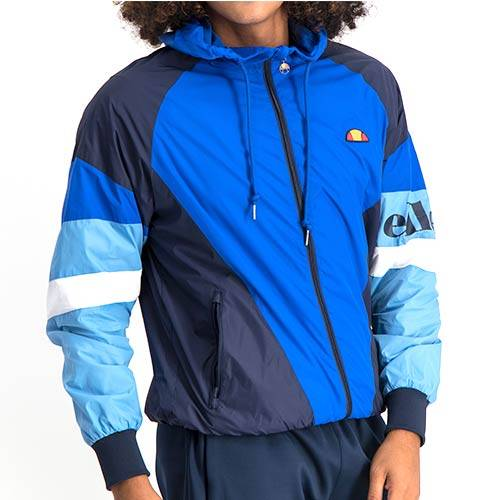 ELL763DB MULTI ZIP FOLD AWAY HOOD JACKET