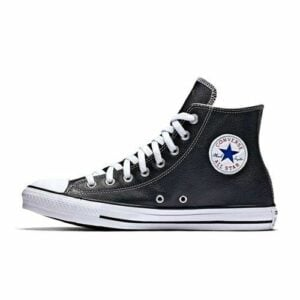 CONVERSE ALL STAR BASIC LEATHER HI BLACK WHITE ALL196BW 1024x1024 1