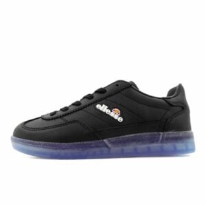 ELL356KBLK ELLESSE CALCIO JUNIOR BLACK TRANSPARENT BLUE SHFU0295 V1