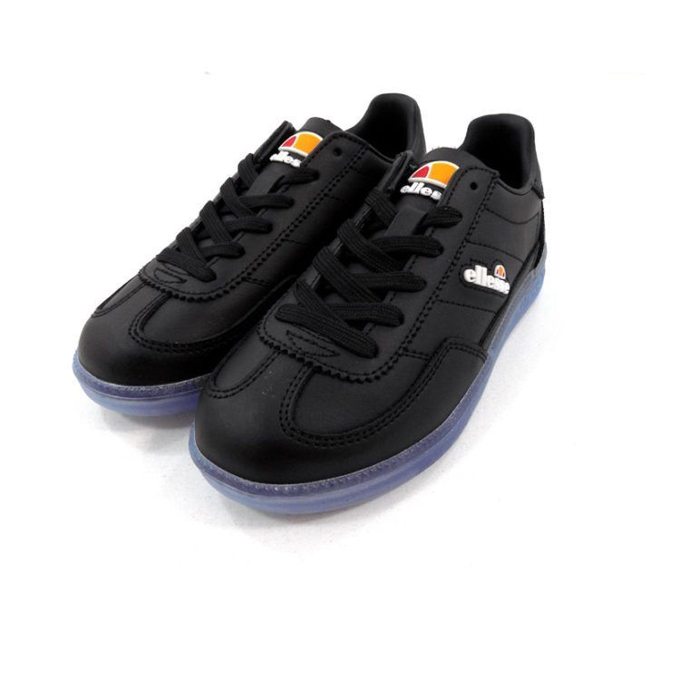 ELL356KBLK ELLESSE CALCIO JUNIOR BLACK TRANSPARENT BLUE SHFU0295 V3